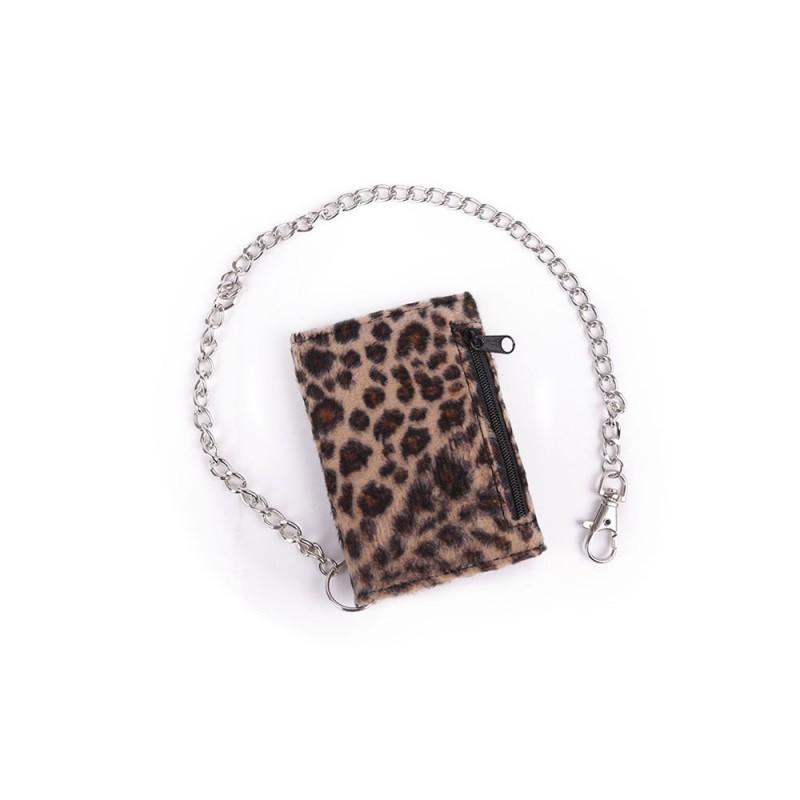 28f65cb24 Cartera Pelo Cadena Leopardo — Camden Shop
