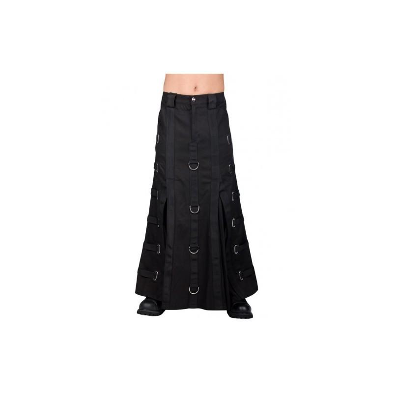 30e8c93bb Falda Aderlass Bondage Skirt Denim Black — Camden Shop