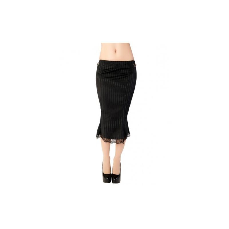 806c60e92 Falda Aderlass Pretty Skirt Pin Stripe Black-White — Camden Shop