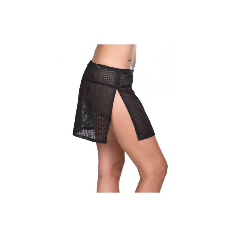 5b02e79d4 Falda Lovesect Slash-Mini Net Black — Camden Shop
